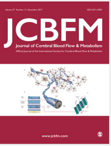 a great way to close a very productive year with our work as cover page of the journal of cerebral blood flow and metabolism december 2017
